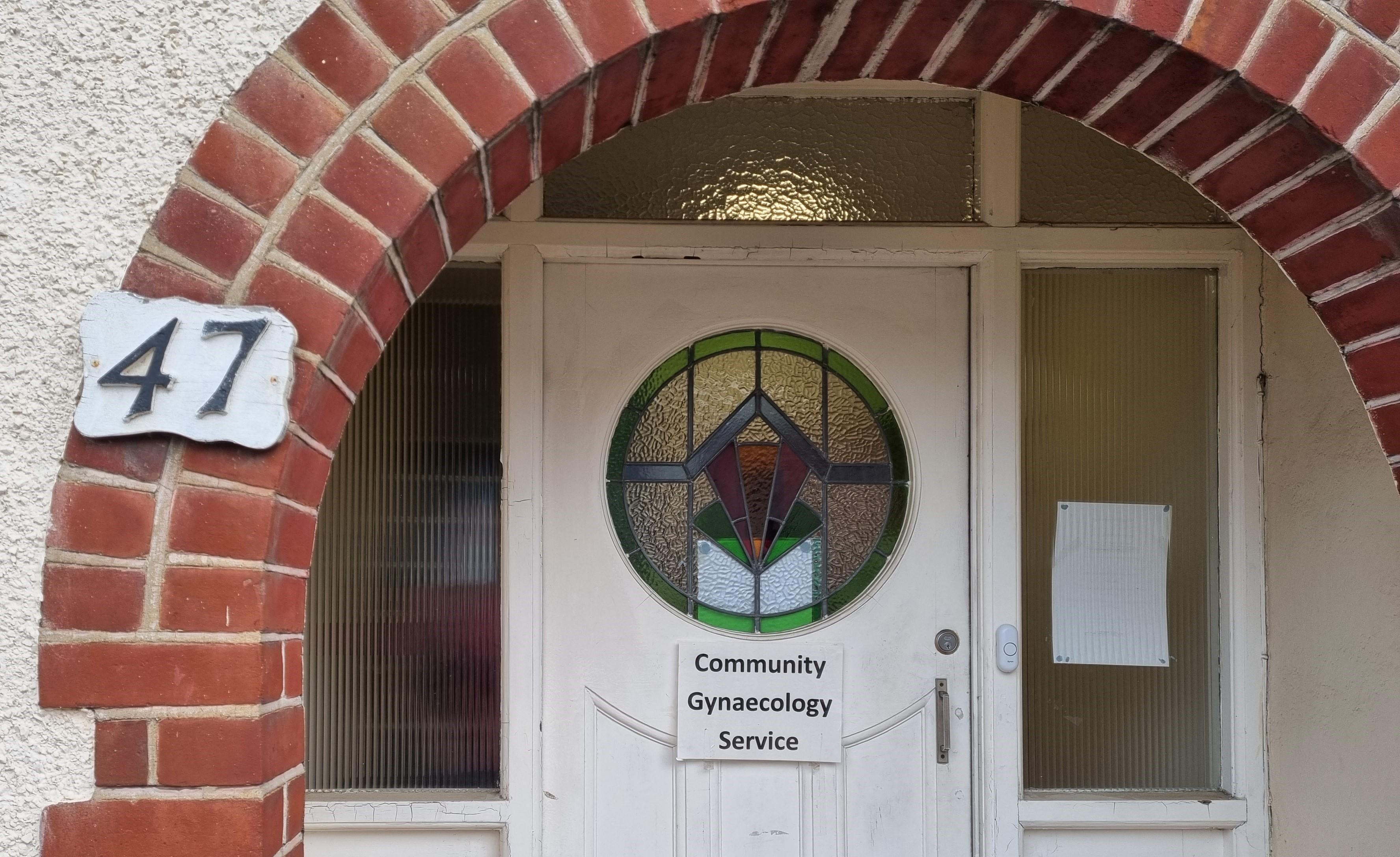 Front door of 47 Kings Road